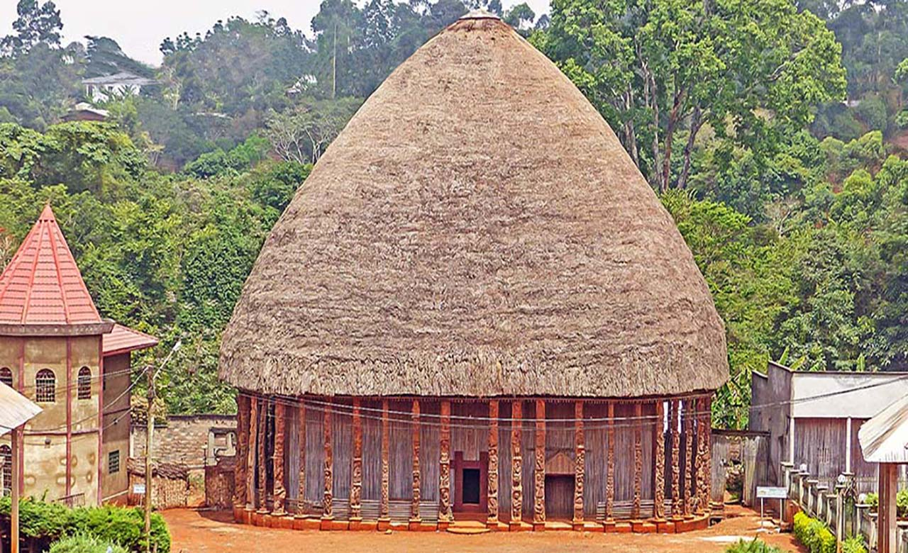 Chefferie Bandjoun au Cameroun